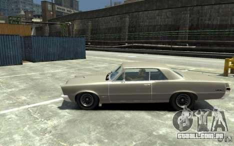 Pontiac GTO v1.1 para GTA 4 esquerda vista