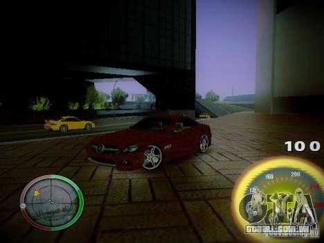 Velocímetro por Centrale para GTA San Andreas terceira tela