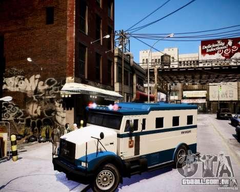 Russian Police Stockade para GTA 4