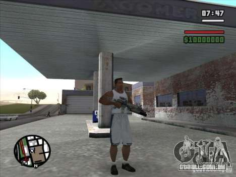 M4 s. l. a. t. k. e. r. (a) para GTA San Andreas segunda tela