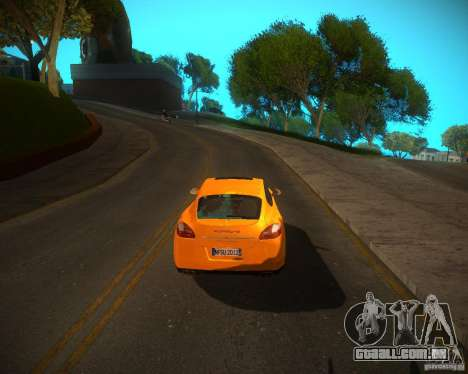 ENBSeries Realistic para GTA San Andreas terceira tela