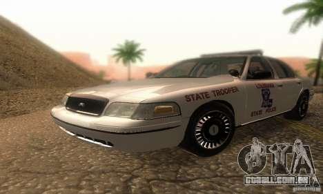 Ford Crown Victoria Louisiana Police para GTA San Andreas