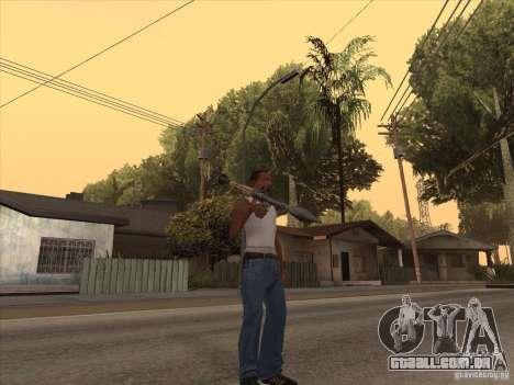 Novo pacote de armas nacionais para GTA San Andreas oitavo tela