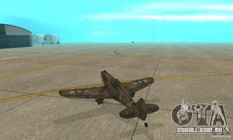 P-35 para GTA San Andreas vista direita