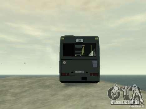 MAZ 103 ônibus para GTA 4 vista interior