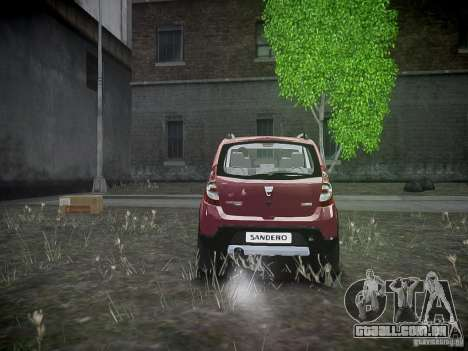 Dacia Sandero Stepway para GTA 4 vista direita