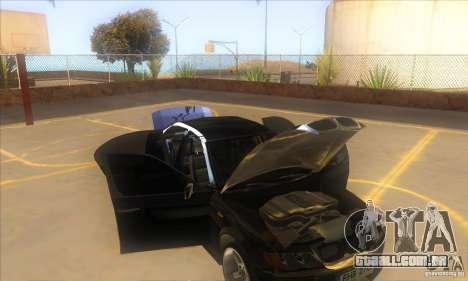 BMW 325i E46 v2.0 para GTA San Andreas vista superior
