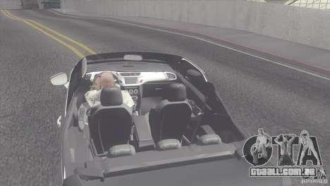 Citroen DS3 Convertible para GTA San Andreas traseira esquerda vista