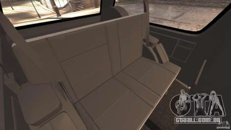 GMC Typhoon v1.1 para GTA 4 interior