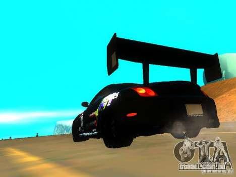 Lexus SC430 Daigo Saito v2 para GTA San Andreas traseira esquerda vista