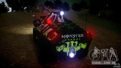 Monster APC para GTA 4 vista de volta