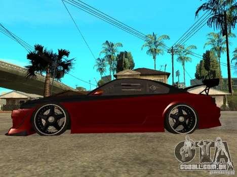 Nissan Silvia S-15 para GTA San Andreas esquerda vista