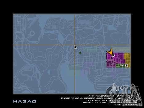 TBOGT HUD para GTA San Andreas por diante tela