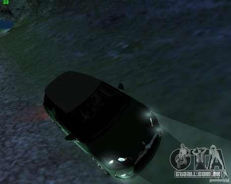 Citroen DS3 2011 para GTA San Andreas traseira esquerda vista