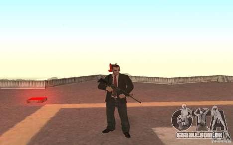 Unique animation of GTA IV V3.0 para GTA San Andreas por diante tela