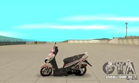 Honda Vario-Velg Racing para GTA San Andreas esquerda vista