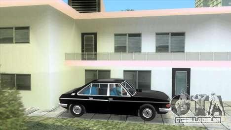 Tatra 613 1973 para GTA Vice City deixou vista
