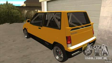 Suzuki Alto Euro para GTA San Andreas traseira esquerda vista