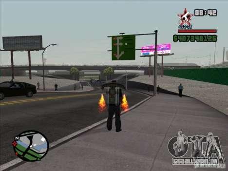 Um novo aeroporto em San Fierro para GTA San Andreas segunda tela