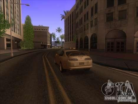 0,075 ENBSeries para PC fraco para GTA San Andreas por diante tela