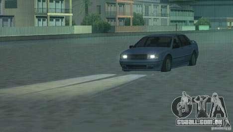 Faróis de halogéneo para GTA San Andreas segunda tela