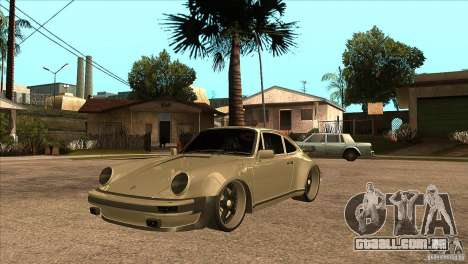 Porsche 911 Turbo 1982 para GTA San Andreas