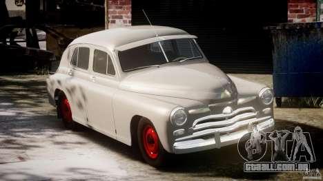 GÁS M20V ganhar americano 1955 v 1.0 para GTA 4 vista interior