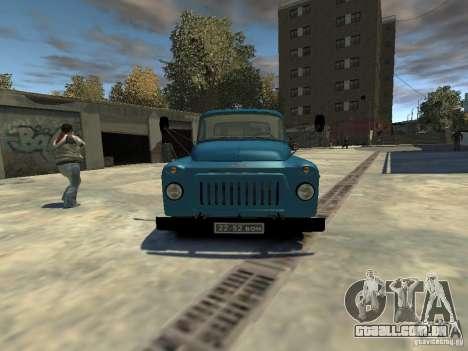 Gaz 52 HotRod para GTA 4 vista direita
