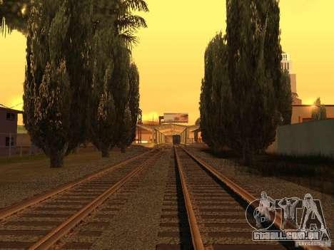 Unity Station para GTA San Andreas quinto tela