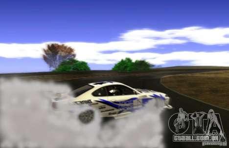 Nissan Silvia S15 para GTA San Andreas vista superior