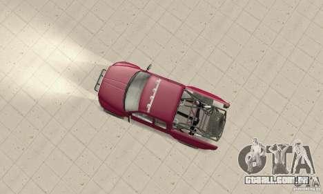 Dodge Ram Prerunner para GTA San Andreas traseira esquerda vista