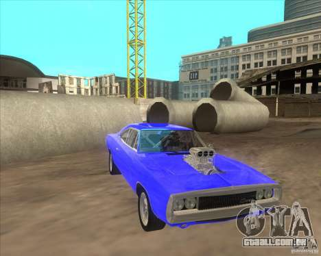 Dodge Charger RT 1970 The Fast and The Furious para GTA San Andreas