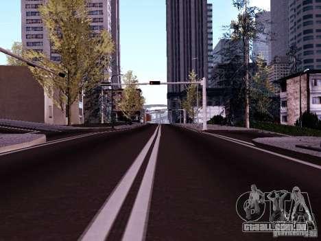 New Roads para GTA San Andreas por diante tela