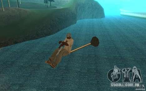 Flying Broom para GTA San Andreas