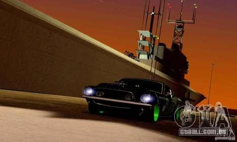 Shelby GT500 Monster Drift para o motor de GTA San Andreas