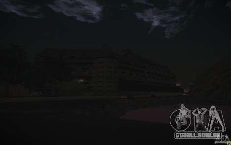 House Mafia para GTA San Andreas por diante tela