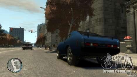 Mini Dukes para GTA 4 traseira esquerda vista