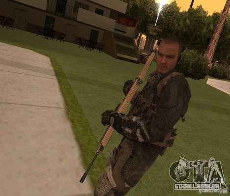 Yuri de Call of Duty: Modern Warfare 3 para GTA San Andreas
