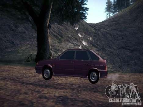 Ваз 2114 Pneumo para GTA San Andreas esquerda vista