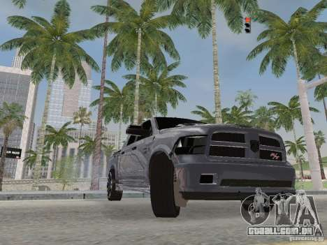 Dodge Ram R/T 2011 para GTA San Andreas vista interior