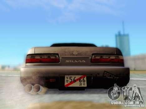 Nissan S13 - Touge para GTA San Andreas vista interior