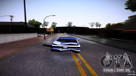 Os peões se agarram à auto para GTA San Andreas terceira tela