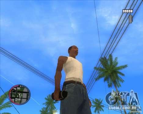 HD de Granada de fumaça para GTA San Andreas segunda tela