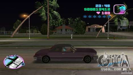 Idaho HD para GTA Vice City deixou vista