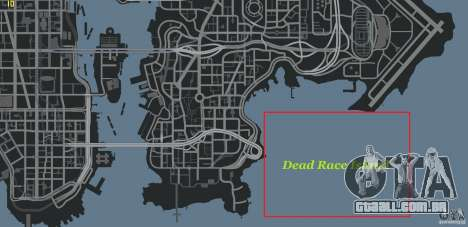 Dead Race Island para GTA 4 quinto tela