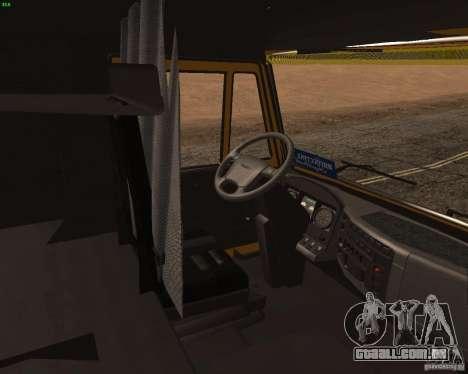 KamAZ 5460 Truckers 2 para GTA San Andreas vista direita