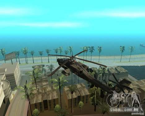 Ka-50 Black Shark para GTA San Andreas