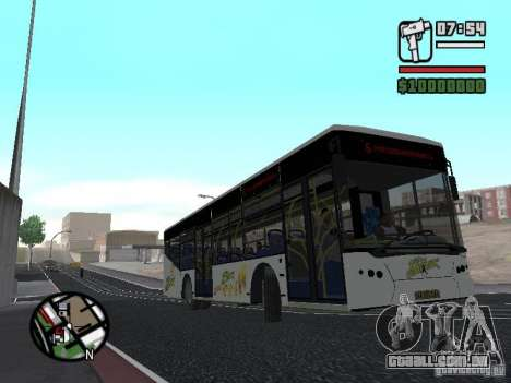 LAZ InterLAZ 12 para GTA San Andreas