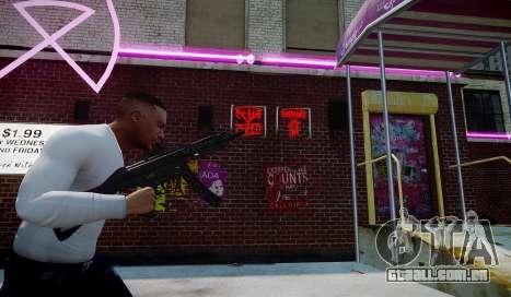 MP5 (CoD: Modern Warfare 3) para GTA 4 segundo screenshot