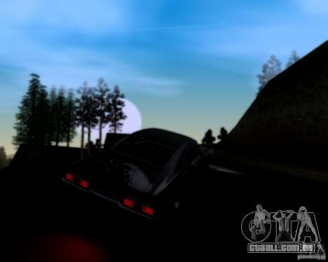 Super Natural ENBSeries para GTA San Andreas quinto tela